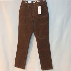 Brown corduroy pants in size 8